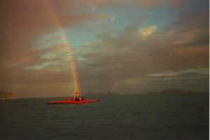 end of the rainbow (from firstlightkayaks.com)